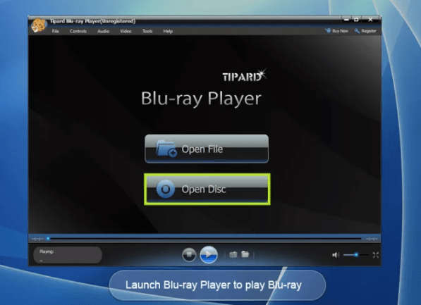 Tipard Blu-ray Player mac