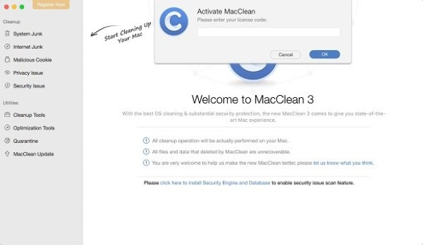 MacClean For Mac