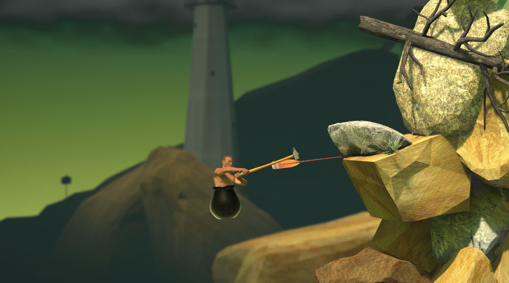 Getting Over It with Bennett Foddy Mac