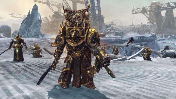 Warhammer 40000 Dawn of War II Chaos Rising Mac