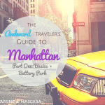 The Awkward Traveler's Guide To Manhattan Part One: Basics + Battery Park
