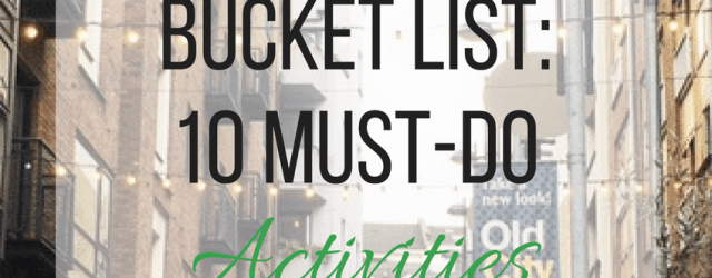 Dublin Bucket List