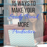 15 Ways To Take A Study Break While Still Being Productive