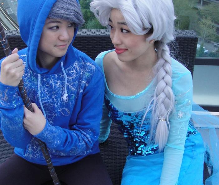 frozen cosplay shirt