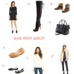 Shopbop Black Friday Wishlist!