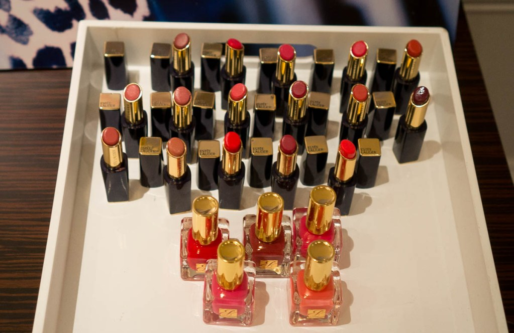 Experiencing the Estee Lauder Spring 2015 Collection