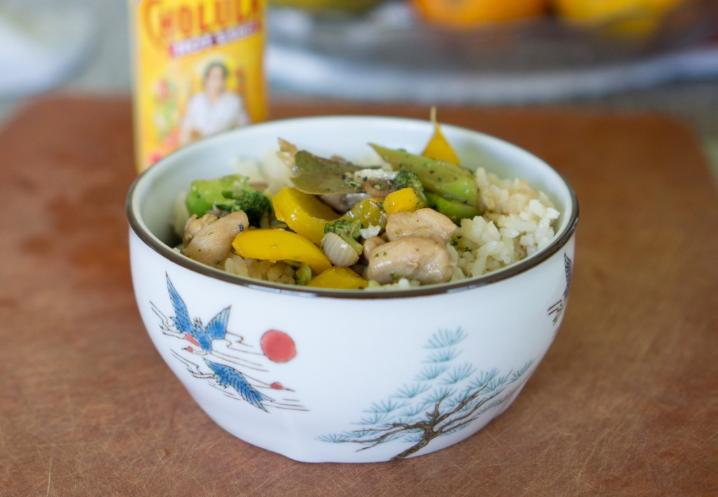 Lunch with Minute Rice + Giveaway 12 Boxes of Minute Rice [Canada Only]