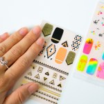 Polish Pop nail art stickers by KISS