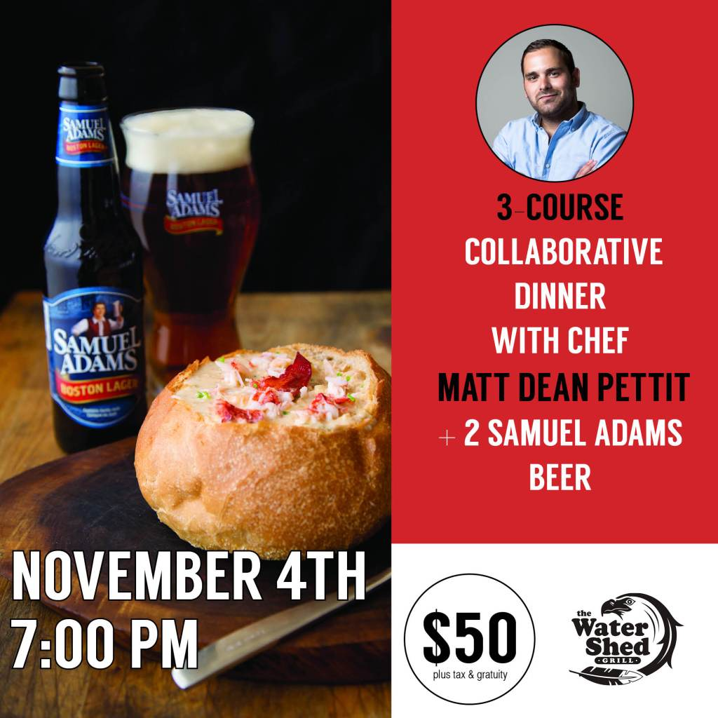 Vancouver: The Ultimate Lobster Experience with Samuel Adams