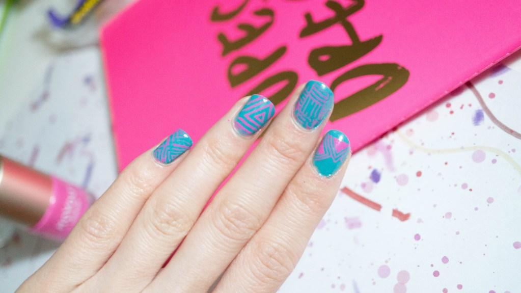 Attempting Nail Art with MoYou London