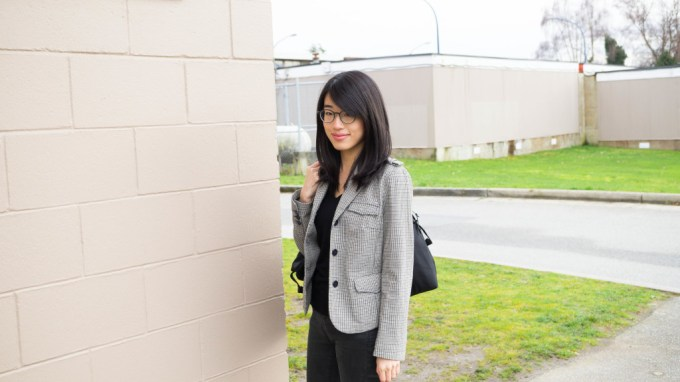 ootd black sweater and blazer-1