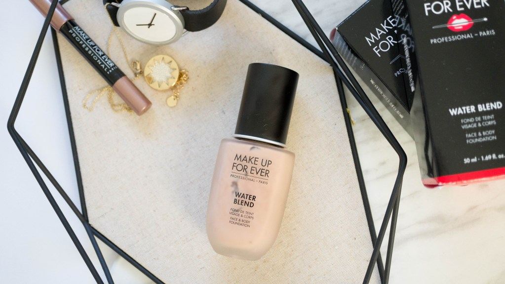 Make Up For Ever| Water Blend Face & Body Foundation