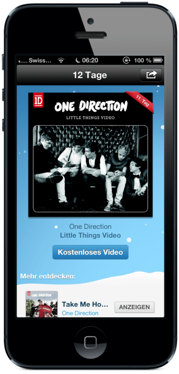 Tag 11 - One Direction – Little Things Video