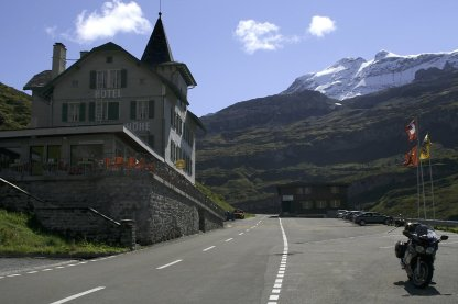 Klausenpass 1948m im September 08
