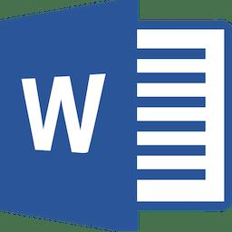 Microsoft Word 2016 16.9