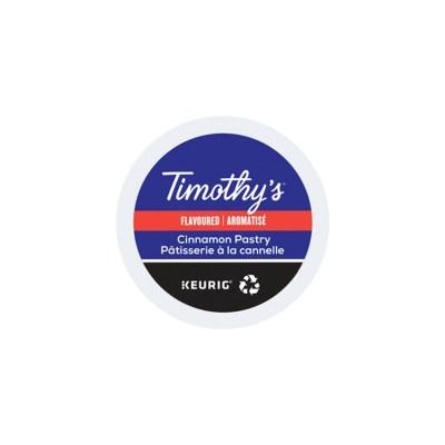 Timothy's Cinnamon Pastry K-cups 24/box