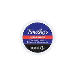 Timothy's Cinnamon Pastry K-cups 24/box