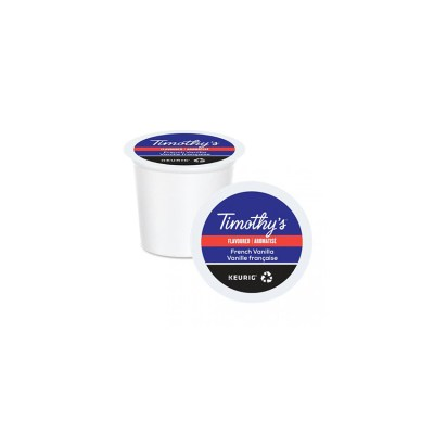 Timothys French Vanilla K-cups