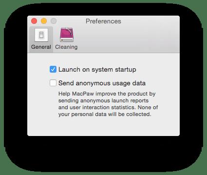 MacBook Pro demarrage cleanmydrive