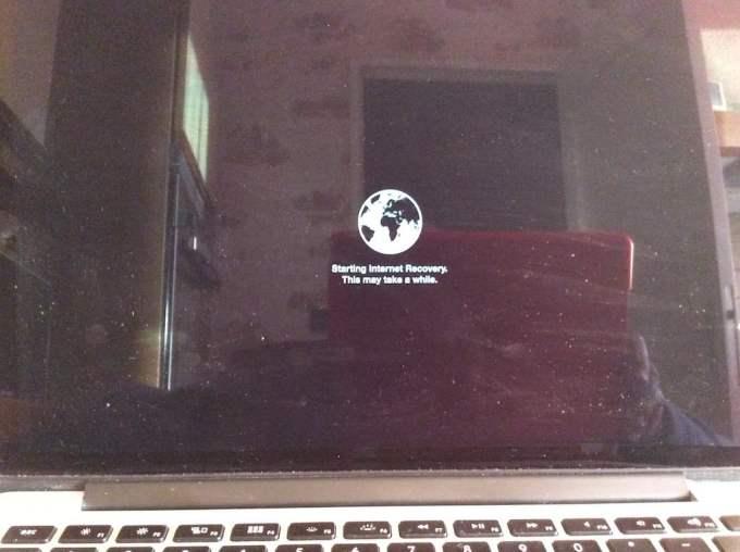 reinstaller un macbook internet recovery