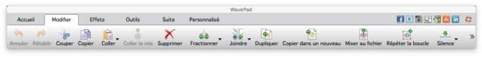 modifier un fichier audio sur mac couper mixer