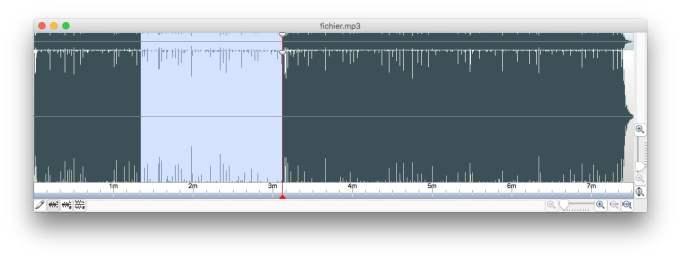 modifier un fichier audio sur mac spectre audio