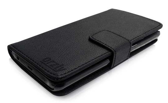 iPhone 5 Orzly Wallet Case Cover Portafogli
