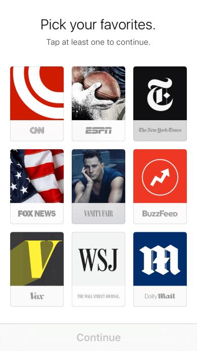 Generali - Welcome to News - Applicazione News di iOS 9