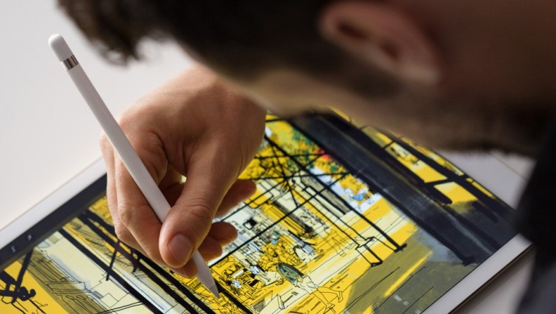 Apple Pencil su iPad Pro