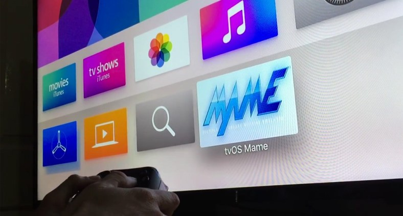 Emulatore Mame su Apple TV 4