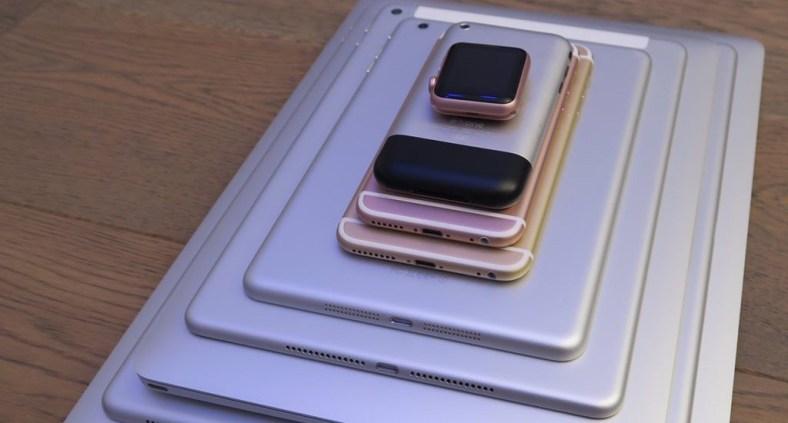 Dispositivi Apple in pila: dall'Apple Watch al MacBook Pro 15