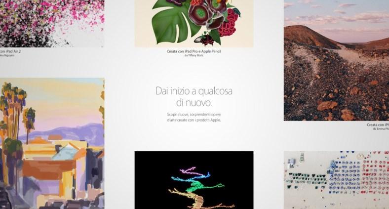 Dai inizio a qualcosa di nuovo - Opere d'arte realizzate con i prodotti Apple