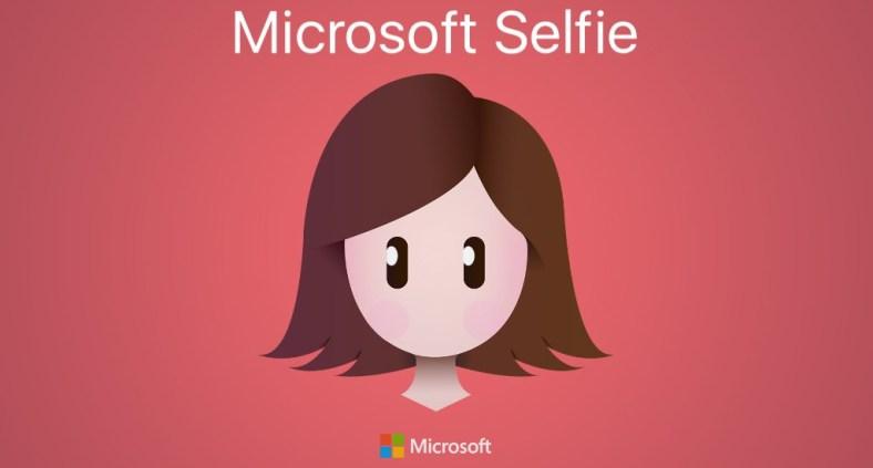 La migliore applicazione per scattare selfie - Microsoft Selfie