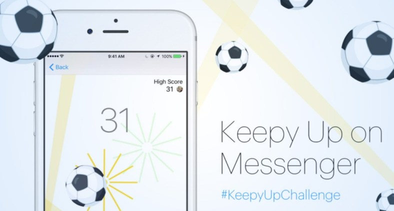 Giochino-Calcio-Facebook-Messenger-KeepyUpChallenge