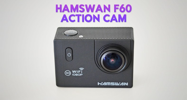 Recensione HAMSWAN F60: la Action Cam Full HD WiFi economica