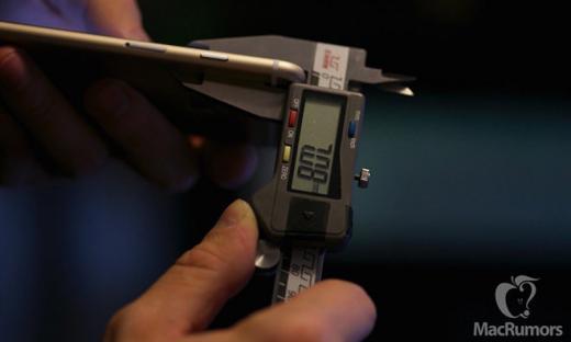 Толщина iPhone 7 составит 6 мм