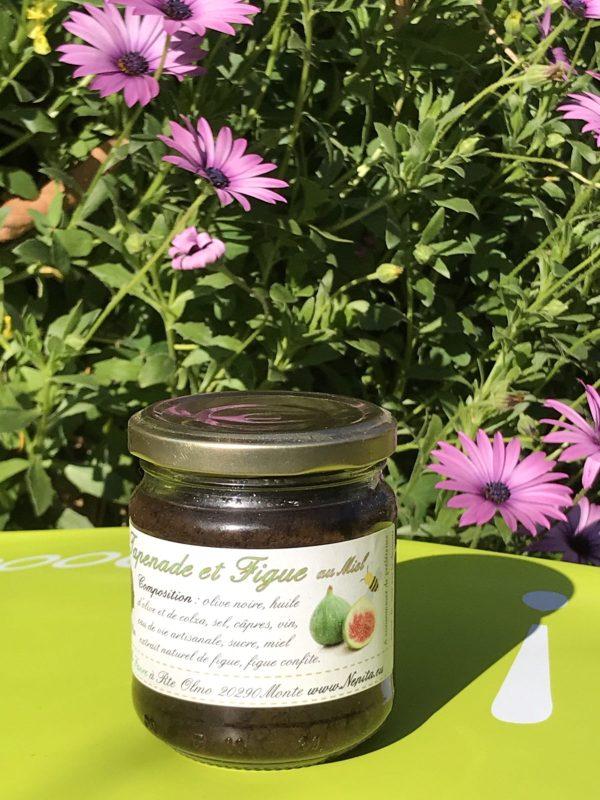 Olive noire, figue, miel