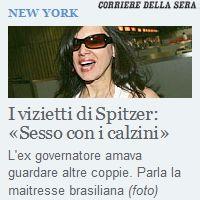 Spitzer - Sesso con i calzini