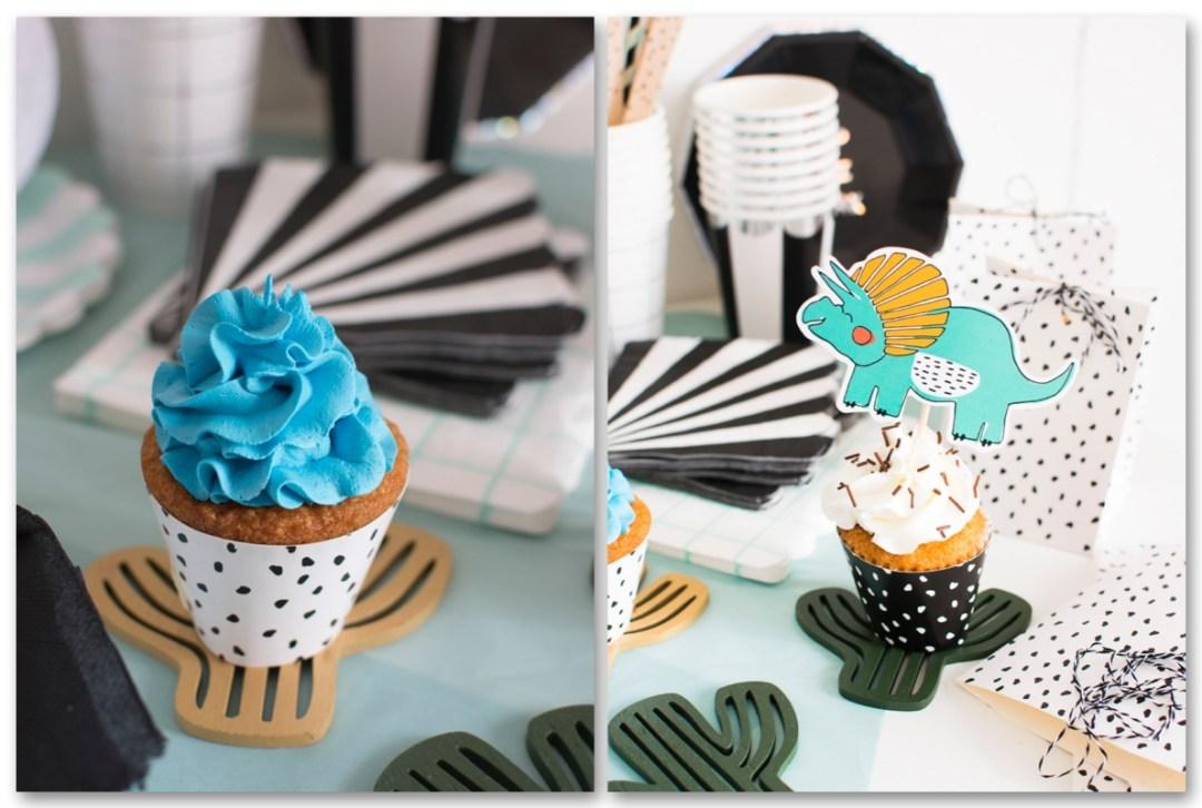 dino party_cupcakes