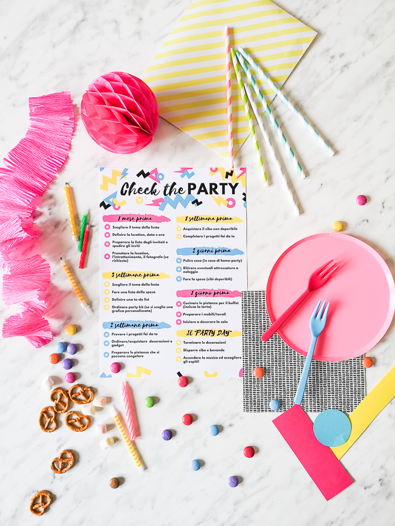 party_checklist_flatlay
