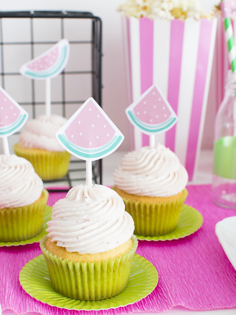 watermelon party_topper