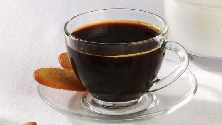 tazzina caffè in vetro