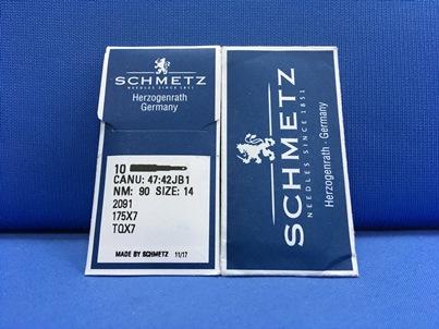 Confezione da 10 aghi Schmetz Nm 90 size 14