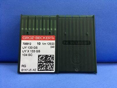 Confeziona da 10 aghi sistema UY 133 GS Nm 125 size 20