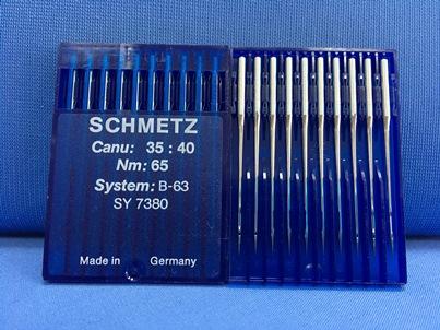 Confezione da 10 aghi industriali Schmetz B63 Nm:65