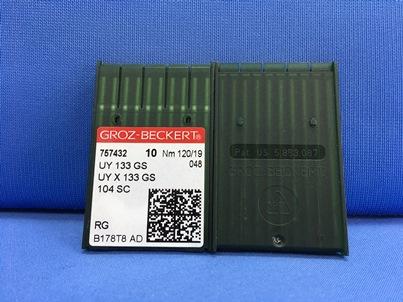 confezione da 10 aghi sistema UY 133 GS Nm 120 size 19