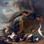 Landscape with Fowl Macculloch Hall Fine Arts Collection