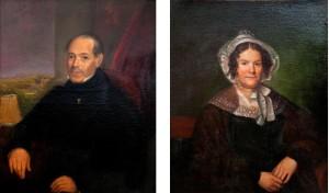 Portraits of George Louisa