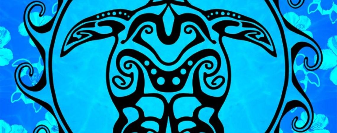 Island tribal artwork