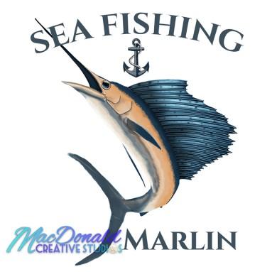 Nautical Sea Fishing Marlin